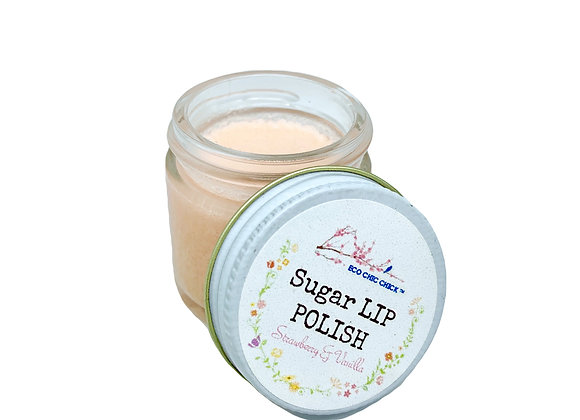 LIP POLISH | Strawberry - Vanilla | 1 oz.
