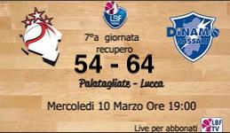 Rassegna Stampa post Lucca vs Dinamo Sassari 54-64