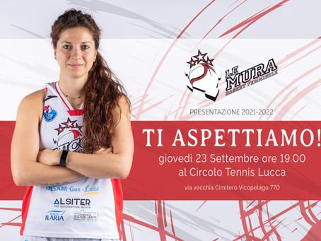 Basket Le Mura Lucca presenta il proprio roster in una serata all'insegna del grande sport lucchese