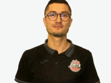 Lorenzo Puschi è il nuovo vice allenatore del Basket Le Mura Lucca
