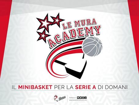 Il minibasket per la Serie A di domani: nasce Le Mura Academy 🏀🏀🏀