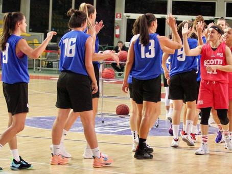Gara Amichevole - Preseason tra Use Scotti Rosa Empoli ed il Basket le Mura Lucca