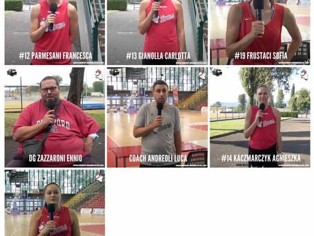 Video Interview pre-season 2021-22 Atlete e Staff