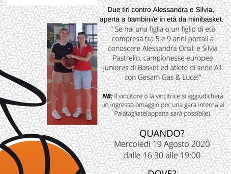 Due tiri con Alessandra e Silvia
