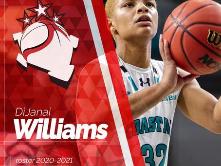 Dal college di Coastal Carolina arriva Dj Williams