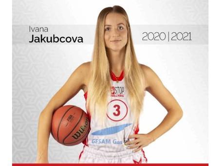 Rinnovo di contratto per Ivana Jakubcova