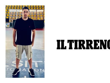 """Coach Andreoli si racconta al """"Il Tirreno"""""""