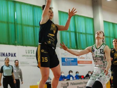 Techfind Serie A1, per il Basket Le Mura arriva un'altra sconfitta a Broni 76-60