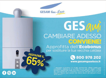 Gesam Gas & Luce e l'Ecobonus