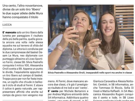 Silvia e Alessandra neo diplomate
