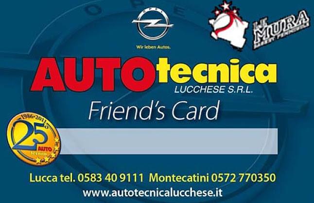 Friends Card Autotecnica Lucchese