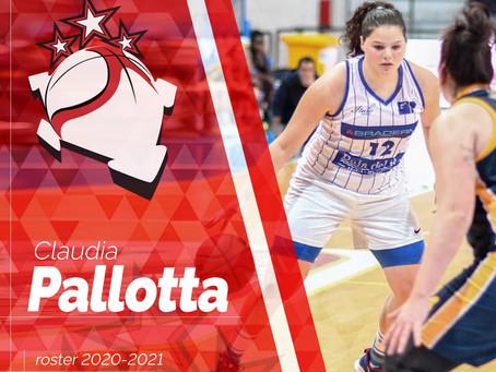 Claudia Pallotta è una nuova giocatrice biancorossa