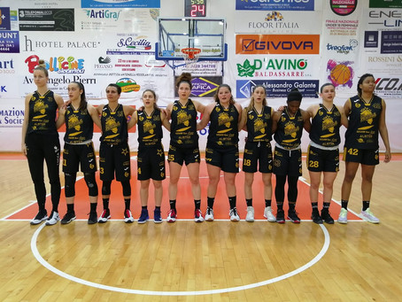 Gara-1 play-out, il Gesam Gas e Luce Lucca espugna il PalaZauli di Battipaglia 64-87