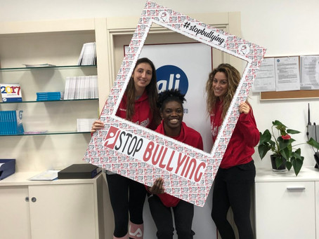 Ali e Basket Le Mura insieme per Stop Bullying