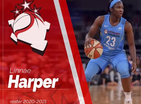Linnae Harper è una nuova giocatrice