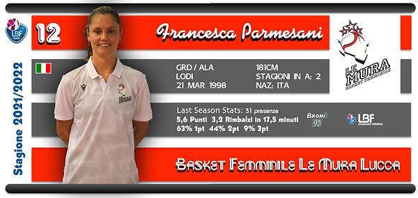 #12 Parmesani Francesca_scheda