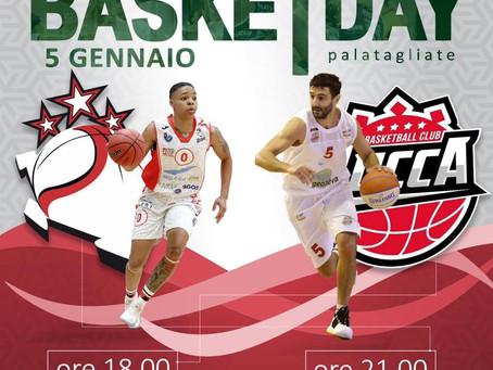 Domenica 5 gennaio 2020 torna il BasketDay