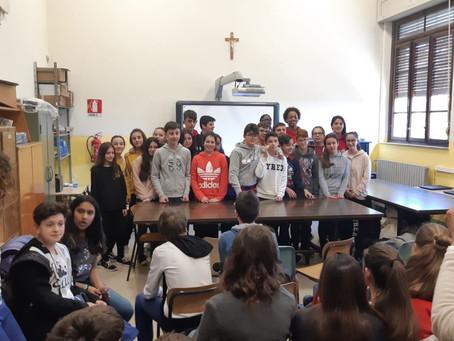 Stop Bullying alla Scuola Media di Mutigliano per l'ultima tappa del progetto