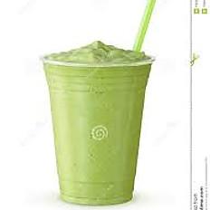 Blended Green Tea Latte