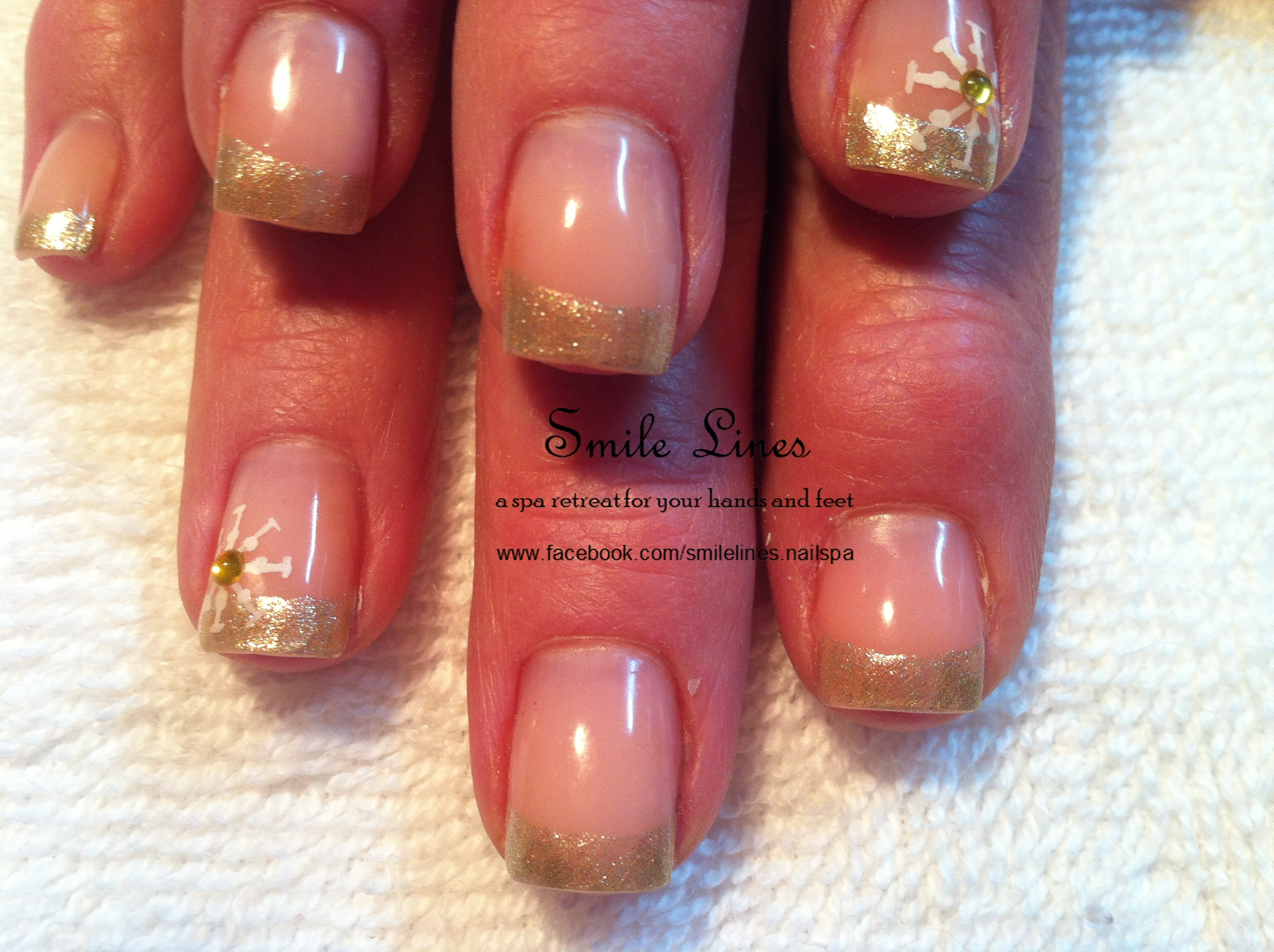 Gold French with snowflakes.JPG