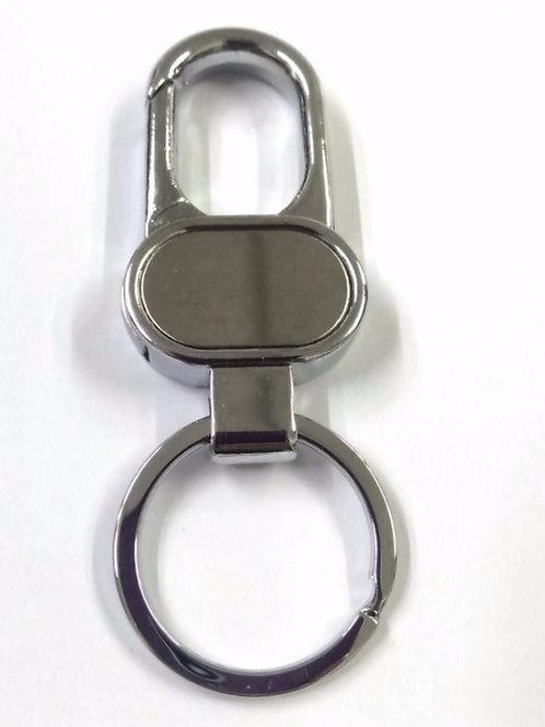 Chaveiro em Metal com Mosquetão - Ref.0114