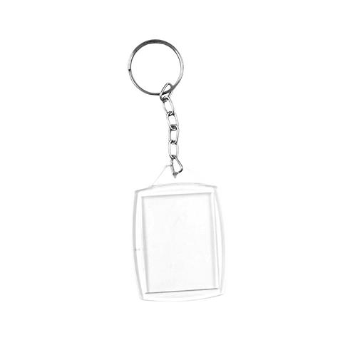 Chaveiro Porta Foto - Transparente