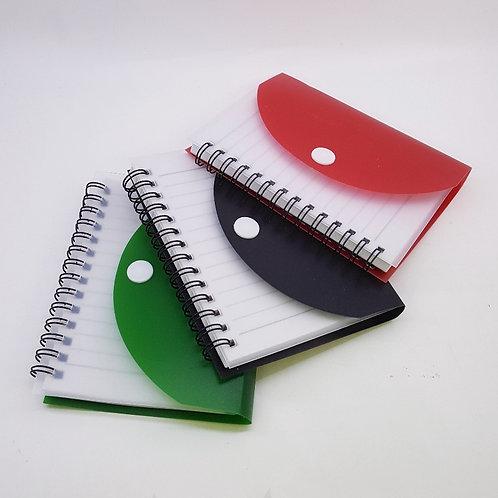 Caderneta Envelope - Capa Articulada