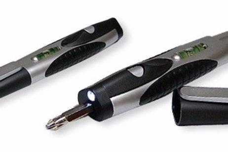 Kit - Chave Philips, Lanterna e Nivelador