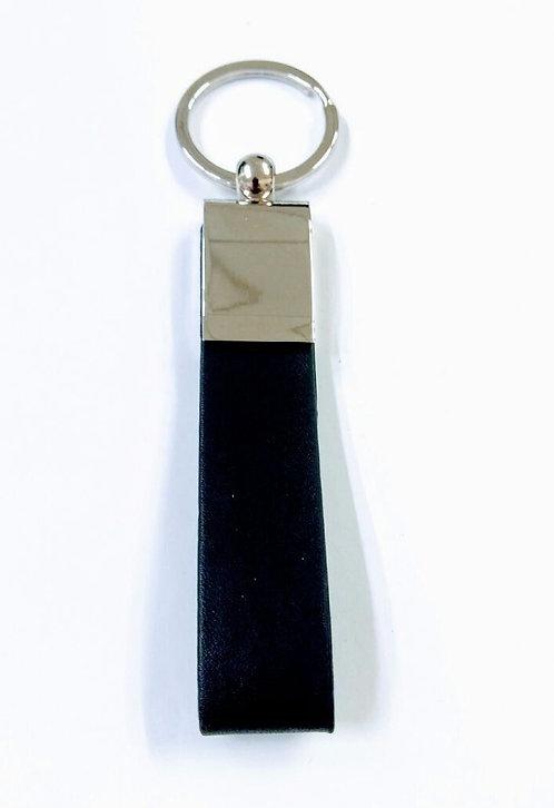 Chaveiro em Metal com Detalhe em Courino - Ref. 0587