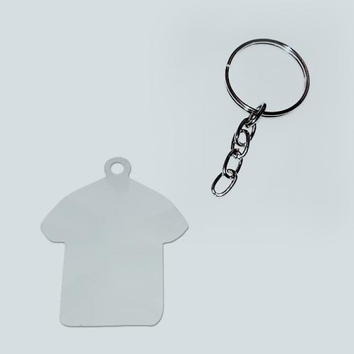Chaveiro Camiseta - Metal
