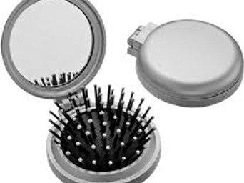 Mini Escova com Espelho