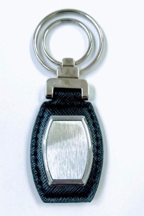 Chaveiro em Courino Com Miolo em Metal - Ref.0020