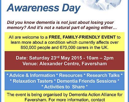 Dementia Awareness Week 2015