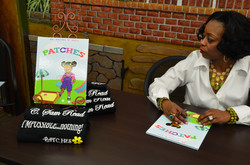 Patches book signing