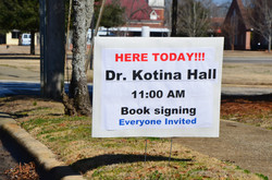 Book signing day