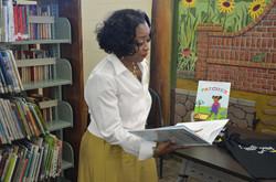 C. Sam Read reading Pathces