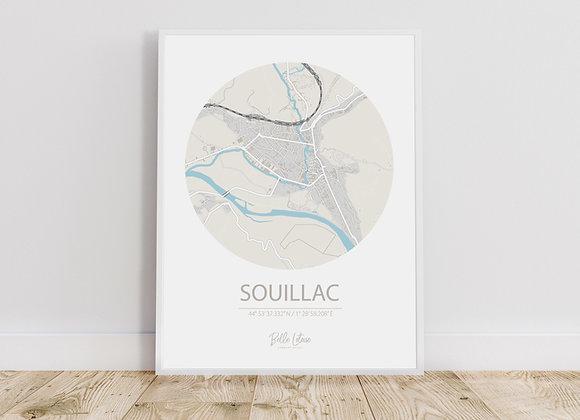 Map Souillac