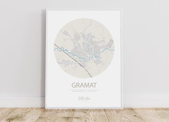 Map Gramat