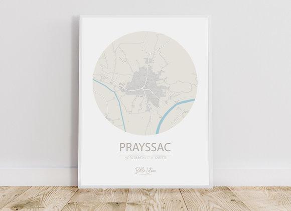 Map Prayssac