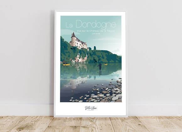 Affiche Belle Lotoise La Dordogne