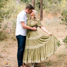 Engagement photo styling