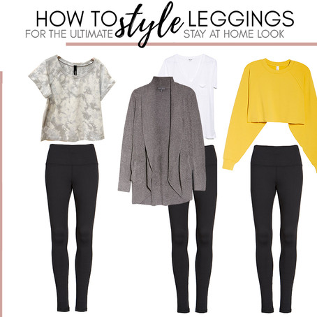 How to style leggings for the ultimate stay at home look
