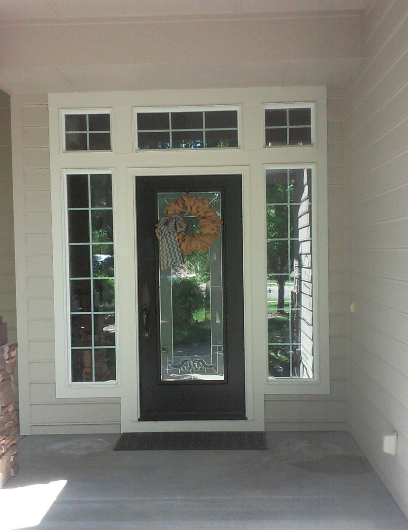 the front door is the first impression