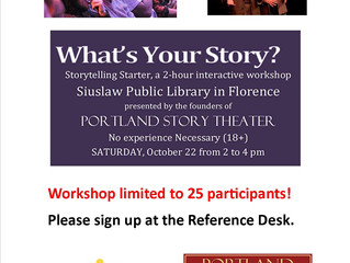 Register for free storytelling workshop!