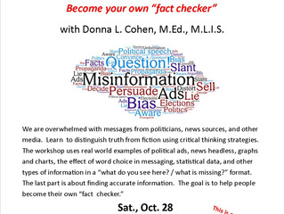Misinformation, Fake News, and Political Propaganda Workshop