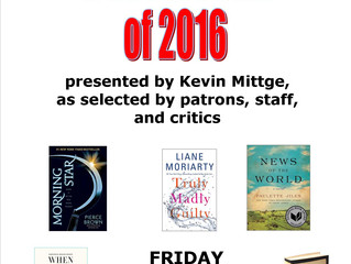 Best Books of 2016 with Kevin Mittge
