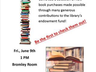 Endowment Books Presentation