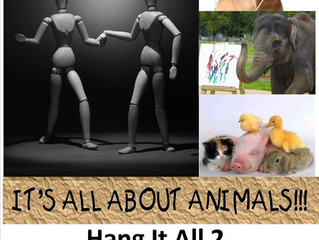 """3rd Annual """"Hang It All 2"""" Animals Exhibit"""