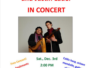 David Helfand & Justin Lader - in concert!