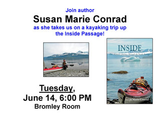 Kayaking the Inside Passage with Susan Marie Conrad